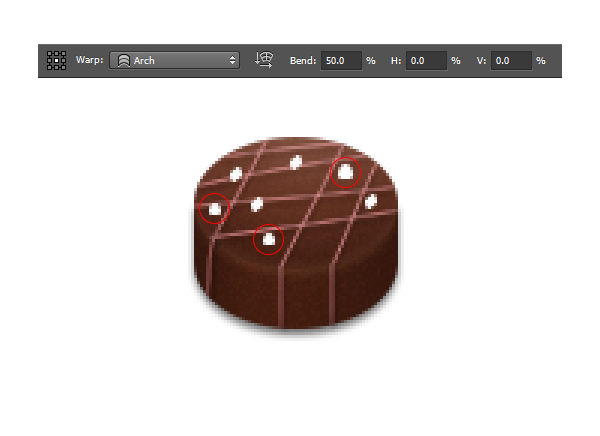 How to Create Chocolate Candies Text Effect in Photoshop 16