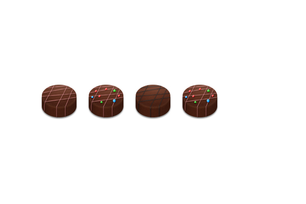 How to Create Chocolate Candies Text Effect in Photoshop 21