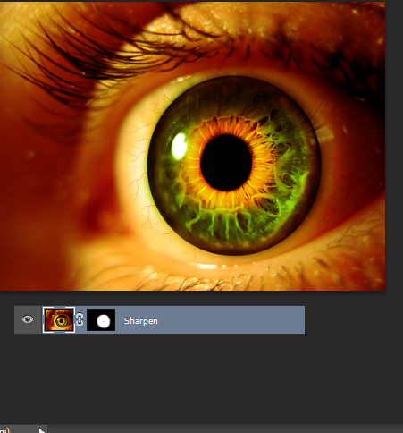 Create an Eerie Eye Photo Manipulation 14