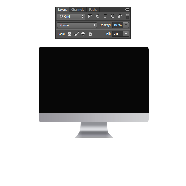 How to Create an iMac Illustration in Photoshop 9