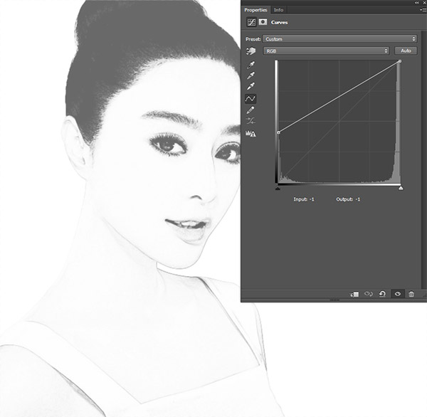 Create a Black and White Drawing Effect in Photoshop 3
