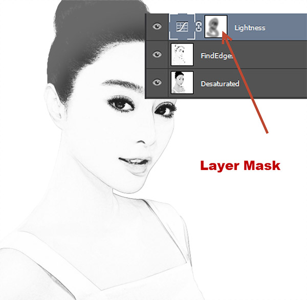 Create a Black and White Drawing Effect in Photoshop 4