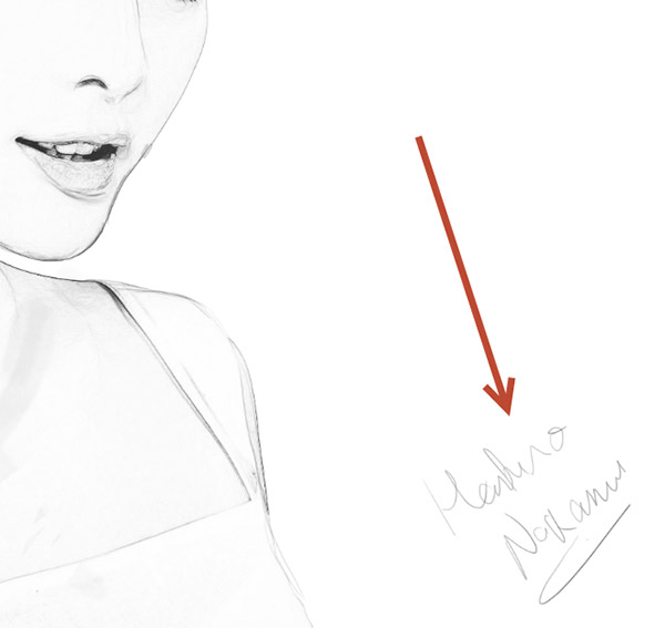 Create a Black and White Drawing Effect in Photoshop 8