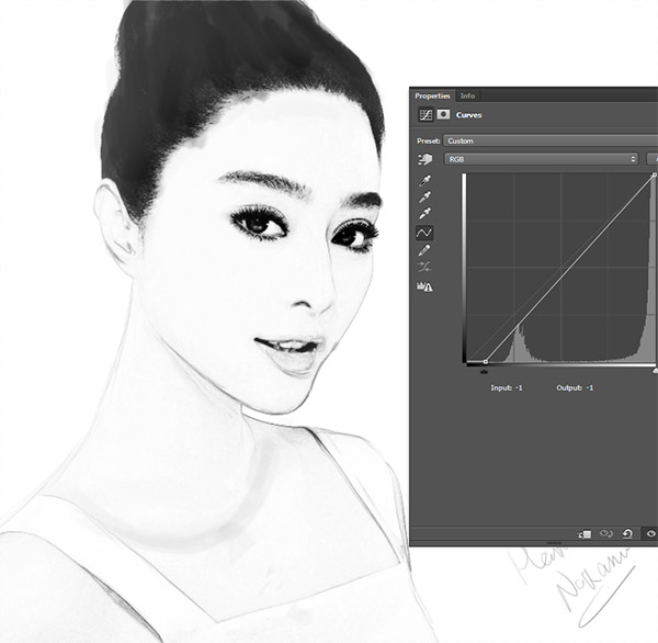 Create a Black and White Drawing Effect in Photoshop 9