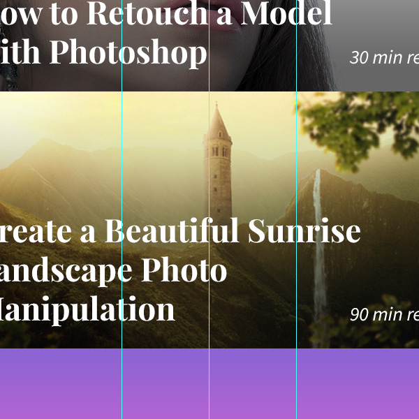 Designing 'Recommended Reading' Mobile App Interface in Photoshop 13