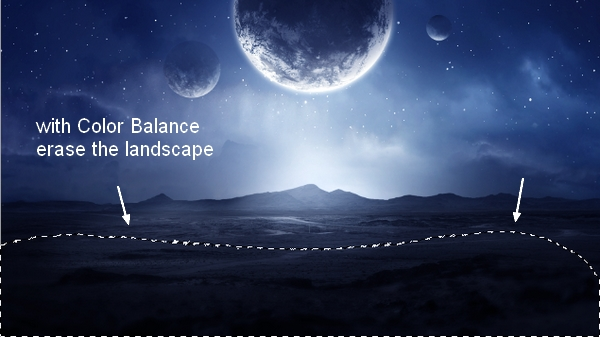Create a Sci-Fi Landscape Scene with Photoshop 53