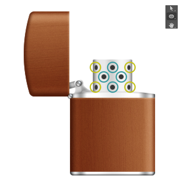 Create a Zippo Lighter in Adobe Photoshop 23