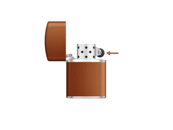 Create a Zippo Lighter in Adobe Photoshop 29