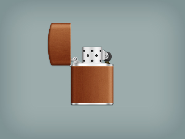 Create a Zippo Lighter in Adobe Photoshop 30