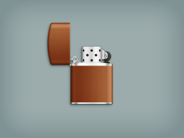 Create a Zippo Lighter in Adobe Photoshop Final