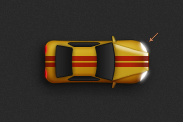 Create a Racing Car Illustration in Adobe Photoshop 29
