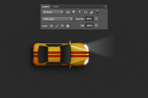 Create a Racing Car Illustration in Adobe Photoshop 32