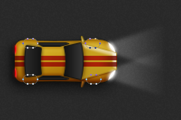 Create a Racing Car Illustration in Adobe Photoshop 34