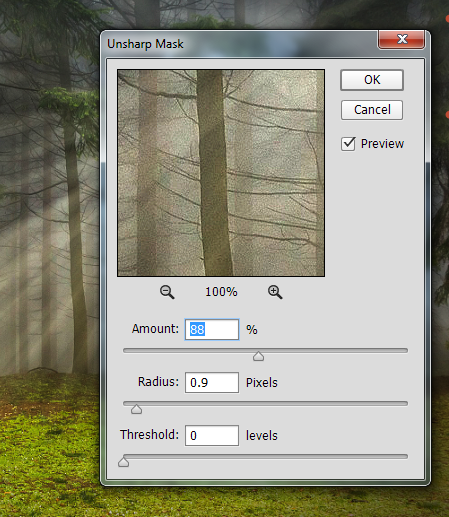 Add Light Rays to a Photo in Photoshop 13