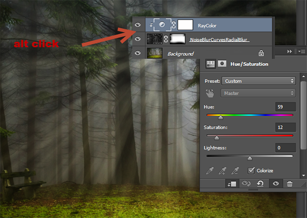 Add Light Rays to a Photo in Photoshop 9