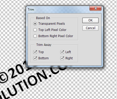 Add a Watermark Sign to any Photo in Photoshop 6