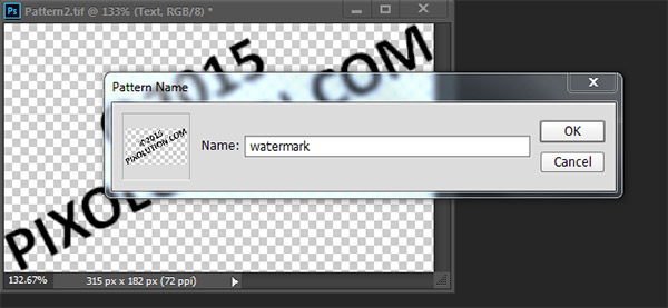 Add a Watermark Sign to any Photo in Photoshop 7