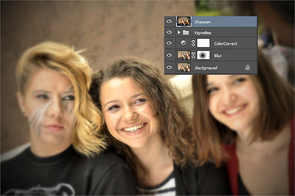 Create Depth of Field Effect in Photoshop 10