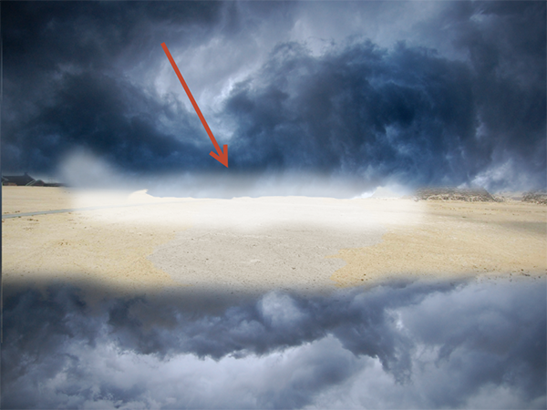 Create a Parting Sea Photo Manipulation in Photoshop 10