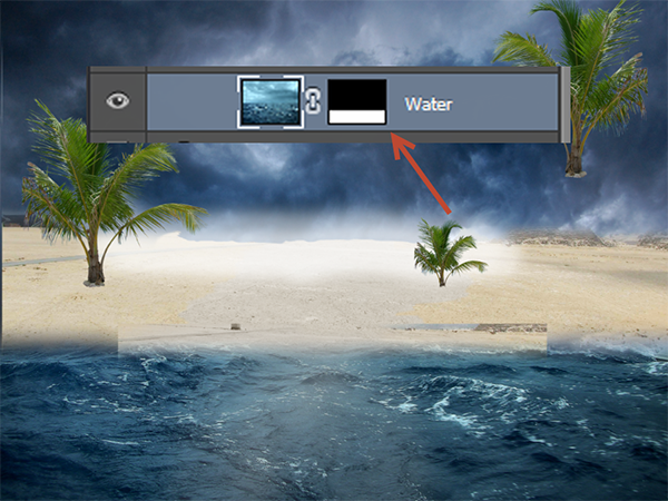 Create a Parting Sea Photo Manipulation in Photoshop 14