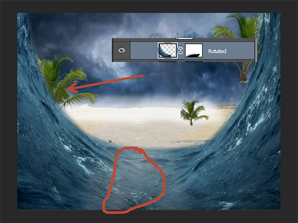 Create a Parting Sea Photo Manipulation in Photoshop 19