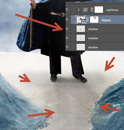 Create a Parting Sea Photo Manipulation in Photoshop 31