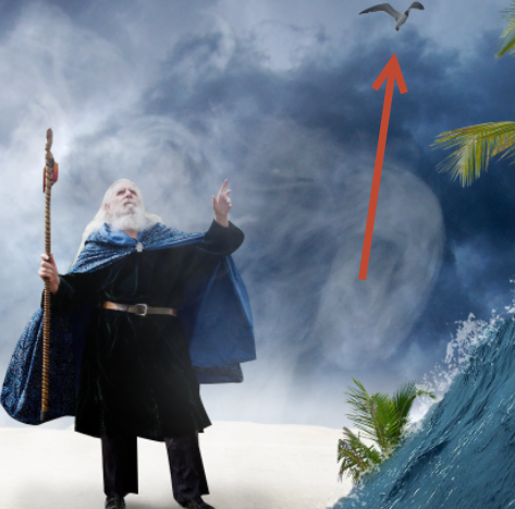 Create a Parting Sea Photo Manipulation in Photoshop 32