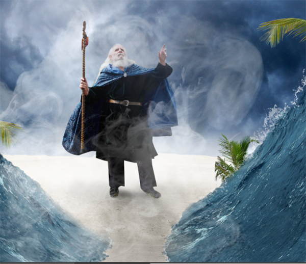 Create a Parting Sea Photo Manipulation in Photoshop 34