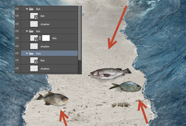 Create a Parting Sea Photo Manipulation in Photoshop 35