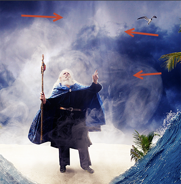 Create a Parting Sea Photo Manipulation in Photoshop 48