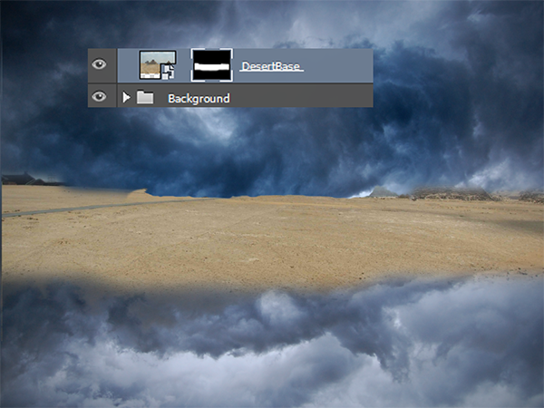 Create a Parting Sea Photo Manipulation in Photoshop 7