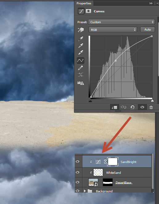 Create a Parting Sea Photo Manipulation in Photoshop 9