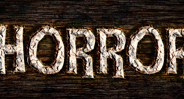 Create a Rusty Horror Text Effect 29