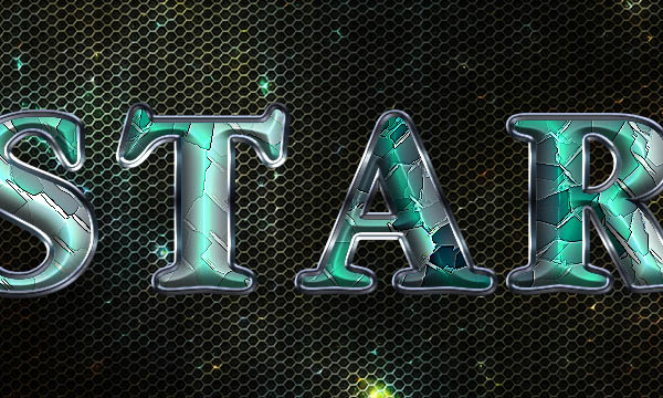 Space Tiles Text Effect 11
