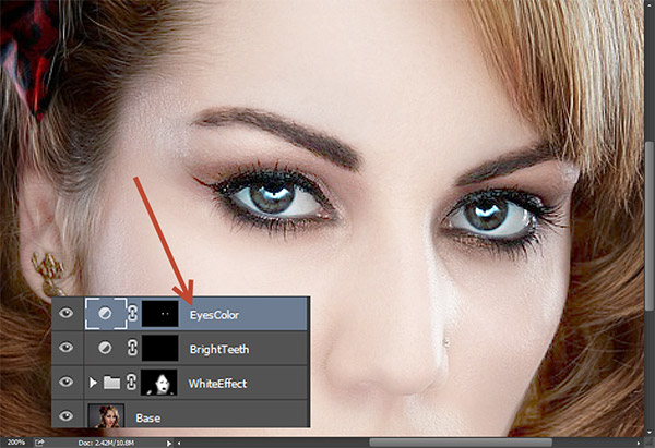 Create a Porcelain Skin Effect in Photoshop 11