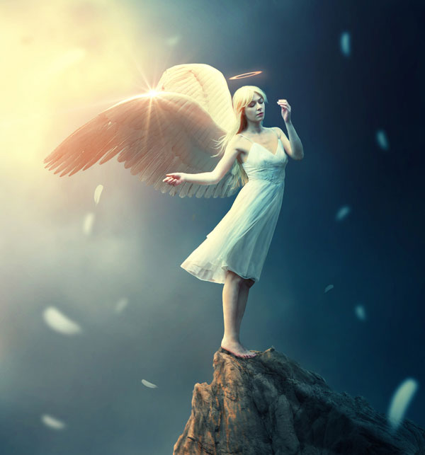 Create a Fantasy Angel Scene in Photoshop
