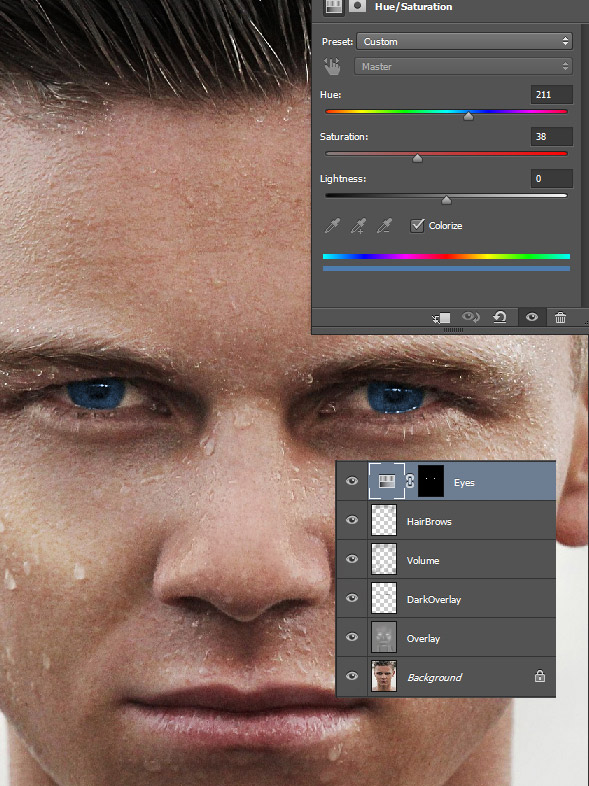 Retouch your photos in a dramatic way 6