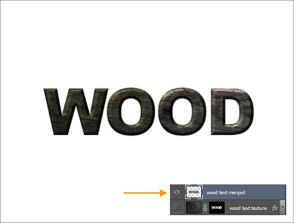 Create a Wood Text effect in Photoshop 12