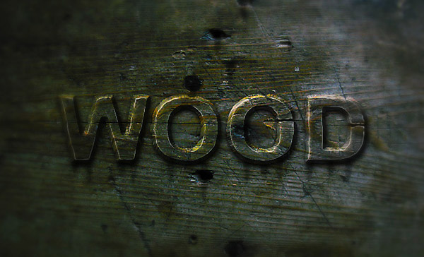 Members Area Tutorial: Create a Wood Text effect in Photoshop