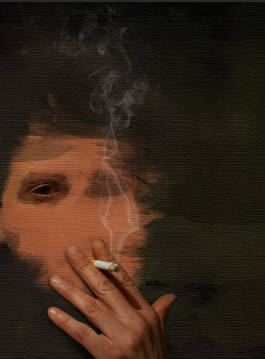 Create a smoking painting effect 12