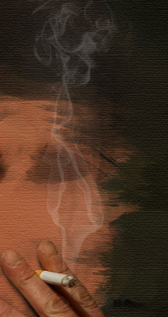 Create a smoking painting effect 14