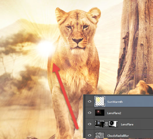 How to Add Lens Flare to an Image with Photoshop 15