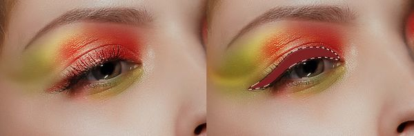 How to Apply Creative Makeup with Photoshop 10