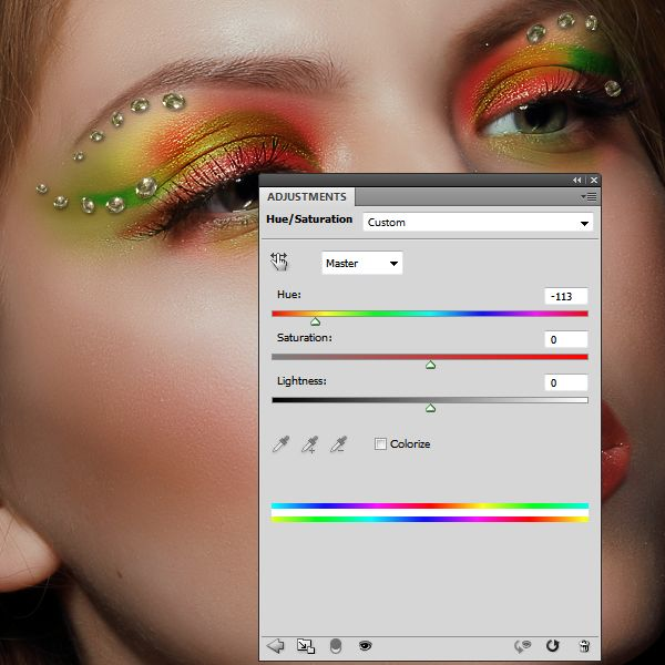 How to Apply Creative Makeup with Photoshop 16