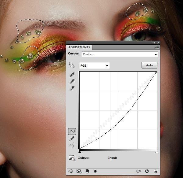 How to Apply Creative Makeup with Photoshop 17