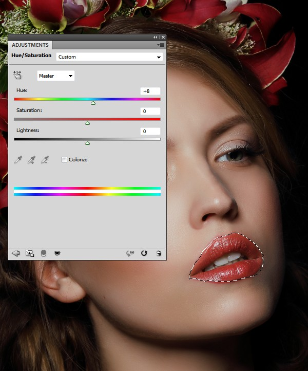 How to Apply Creative Makeup with Photoshop 2