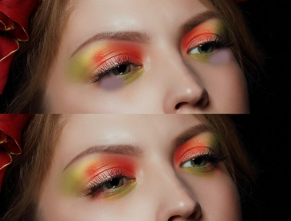 How to Apply Creative Makeup with Photoshop 6