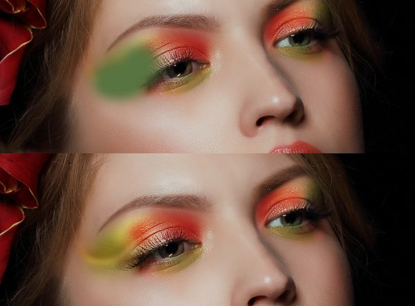 How to Apply Creative Makeup with Photoshop 9