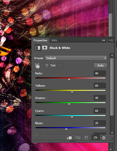Create a crazy disco effect with Photoshop 13