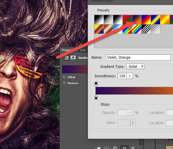 Create a crazy disco effect with Photoshop 2